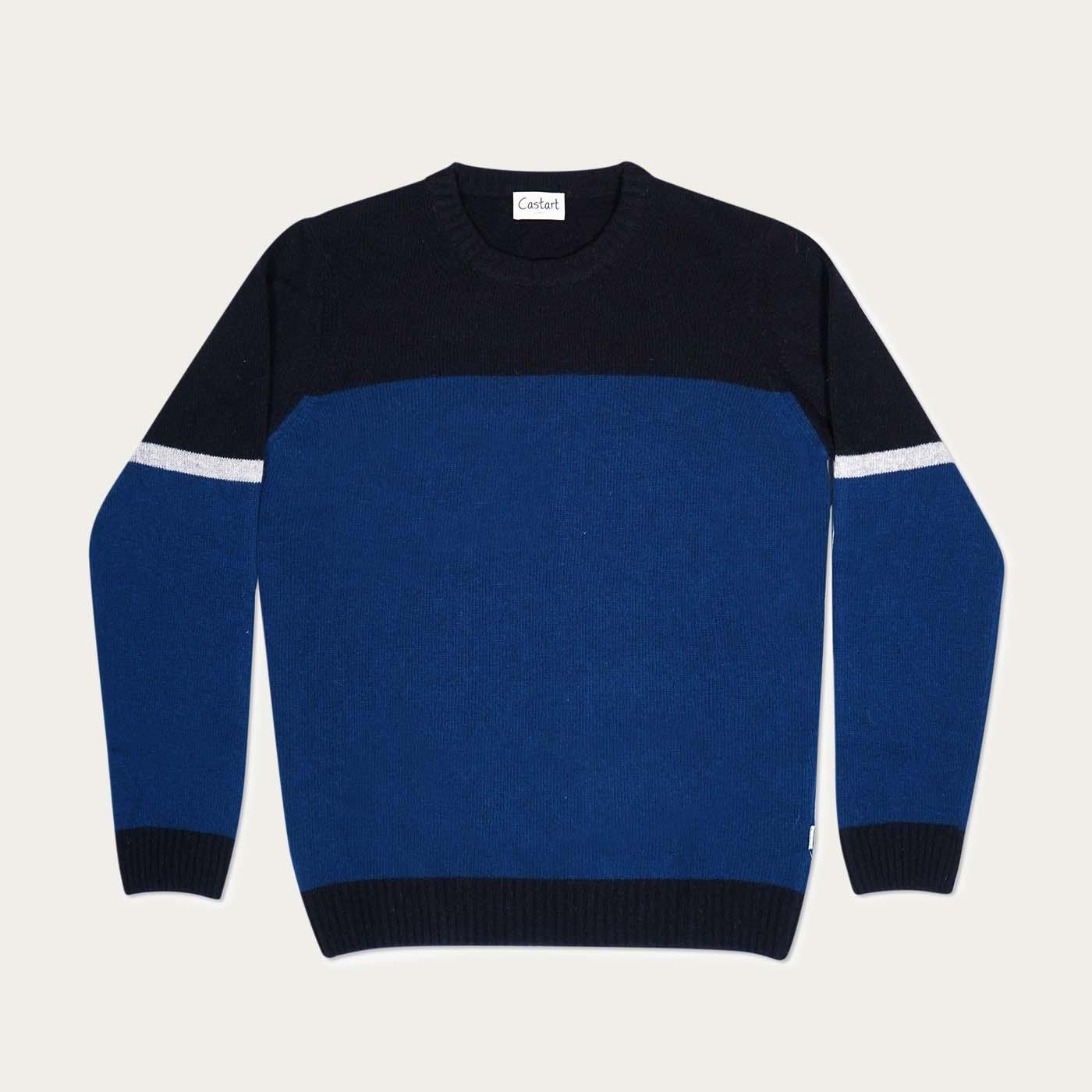 Dark Blue Turner Knitwear  0