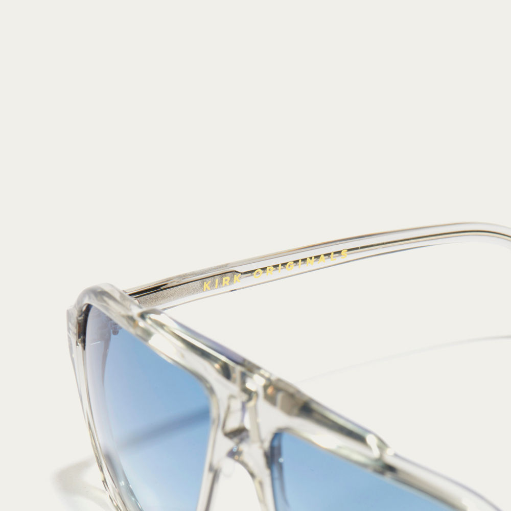 Smokey Grey and Pale Blue Anthony Sunglasses | Bombinate