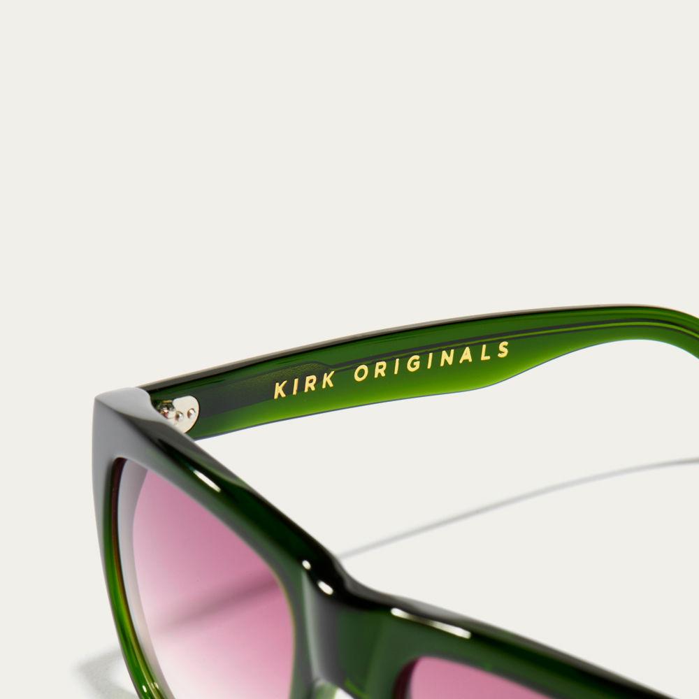 Dartmouth Green and Pink Fade Blake Sunglasses | Bombinate