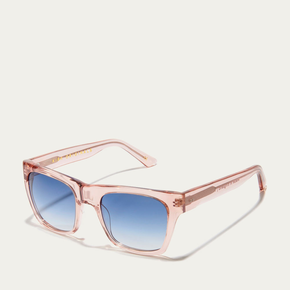 Dusty Pink and Blue Fade Kirven Sunglasses | Bombinate