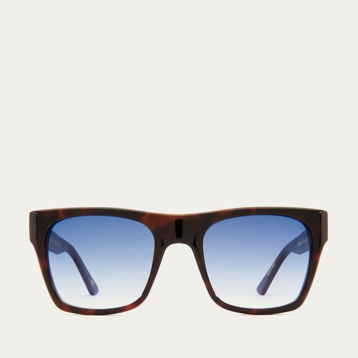 Dark Tortoiseshell and Blue Fade Kirven Sunglasses   Bombinate