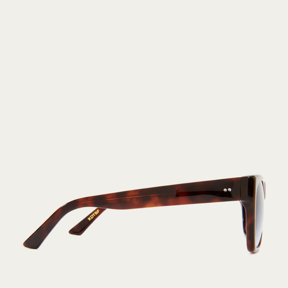 Dark Tortoiseshell and Blue Fade Kirven Sunglasses | Bombinate