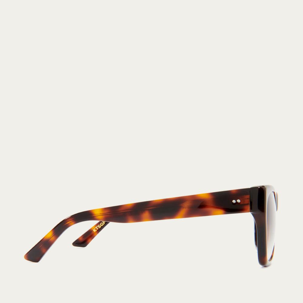 Tortoiseshell and Green Fade Kirven Sunglasses | Bombinate