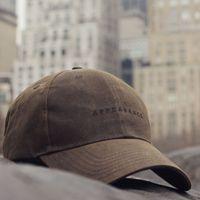 Dark Brown Oilskin Cap | Bombinate