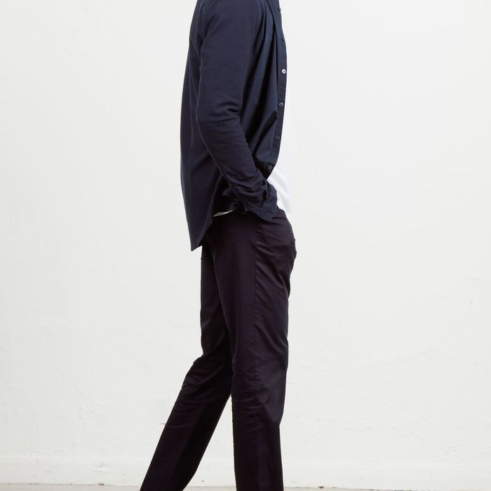 Navy 24 Trouser   | Bombinate