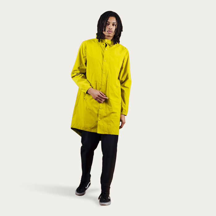Yellow Lizard Blizzard Parka | Bombinate