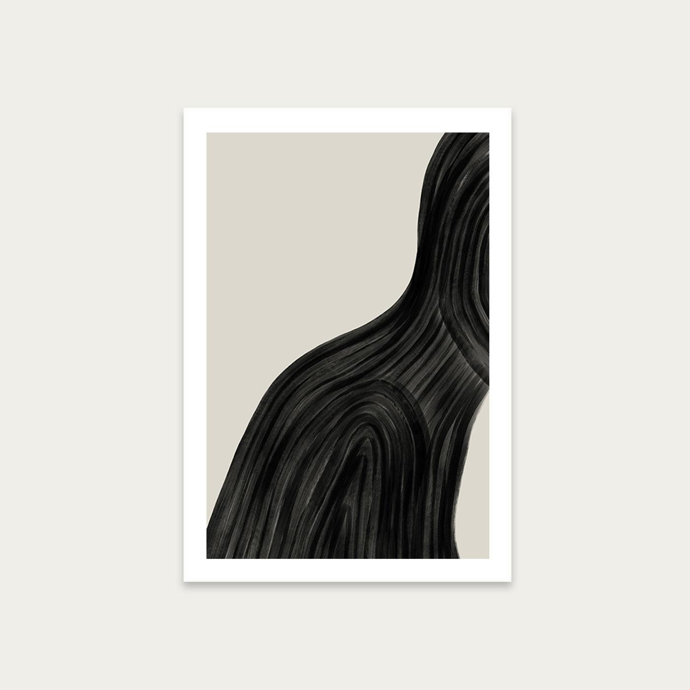 When You Left Art Print Unframed | Bombinate