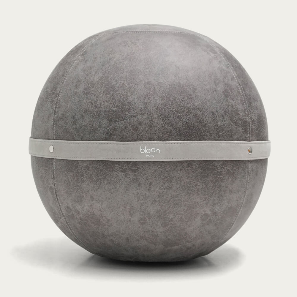 Grey Bloon Leather Like | Bombinate