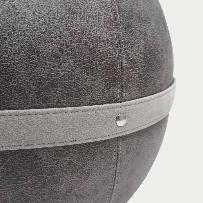 Grey Bloon Leather Like   Bombinate