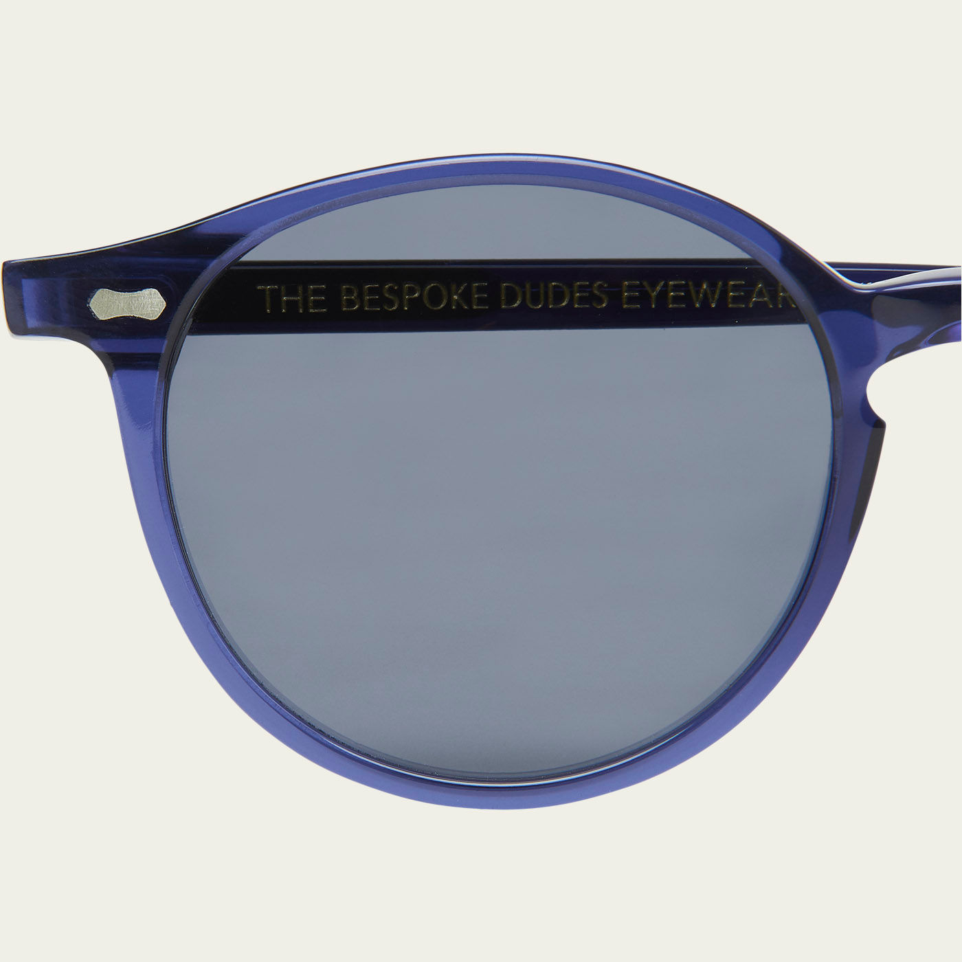 Blue / Gradient Grey Cran Sunglasses | Bombinate