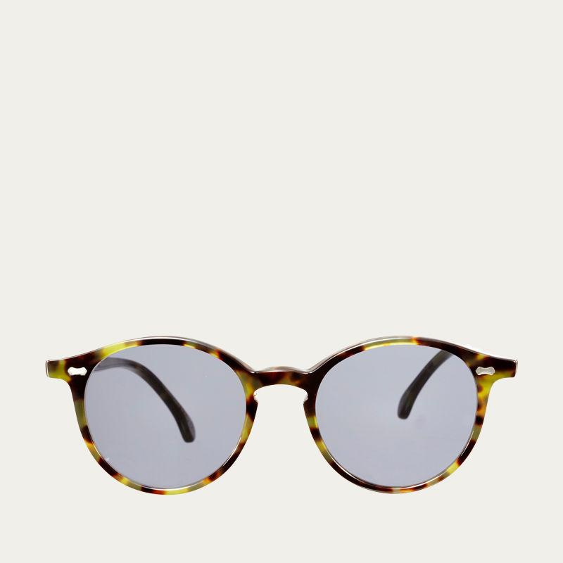 Green Tortoise / Gradient Grey Cran Sunglasses | Bombinate