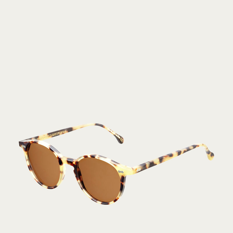 Matte Light Tortoise / Tobacco Cran Sunglasses | Bombinate