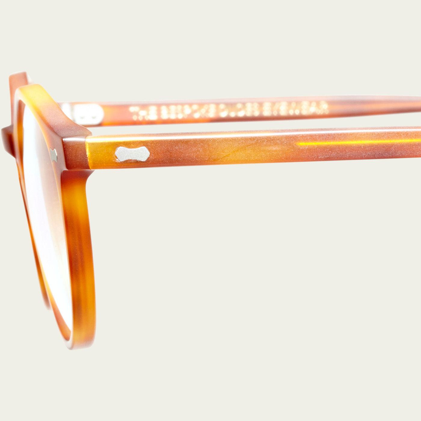 Matte Classic Tortoise Optical Cran Glasses | Bombinate