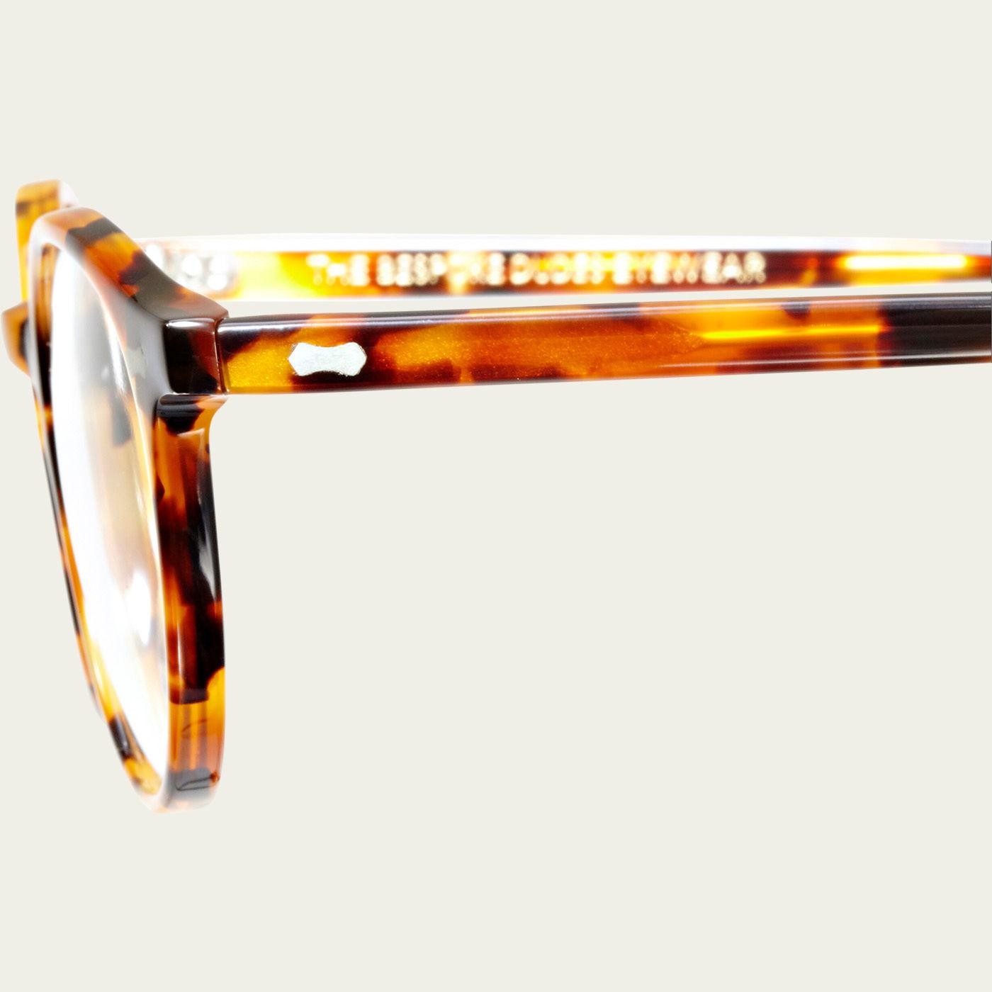 Amber Tortoise Cran Optical Glasses | Bombinate