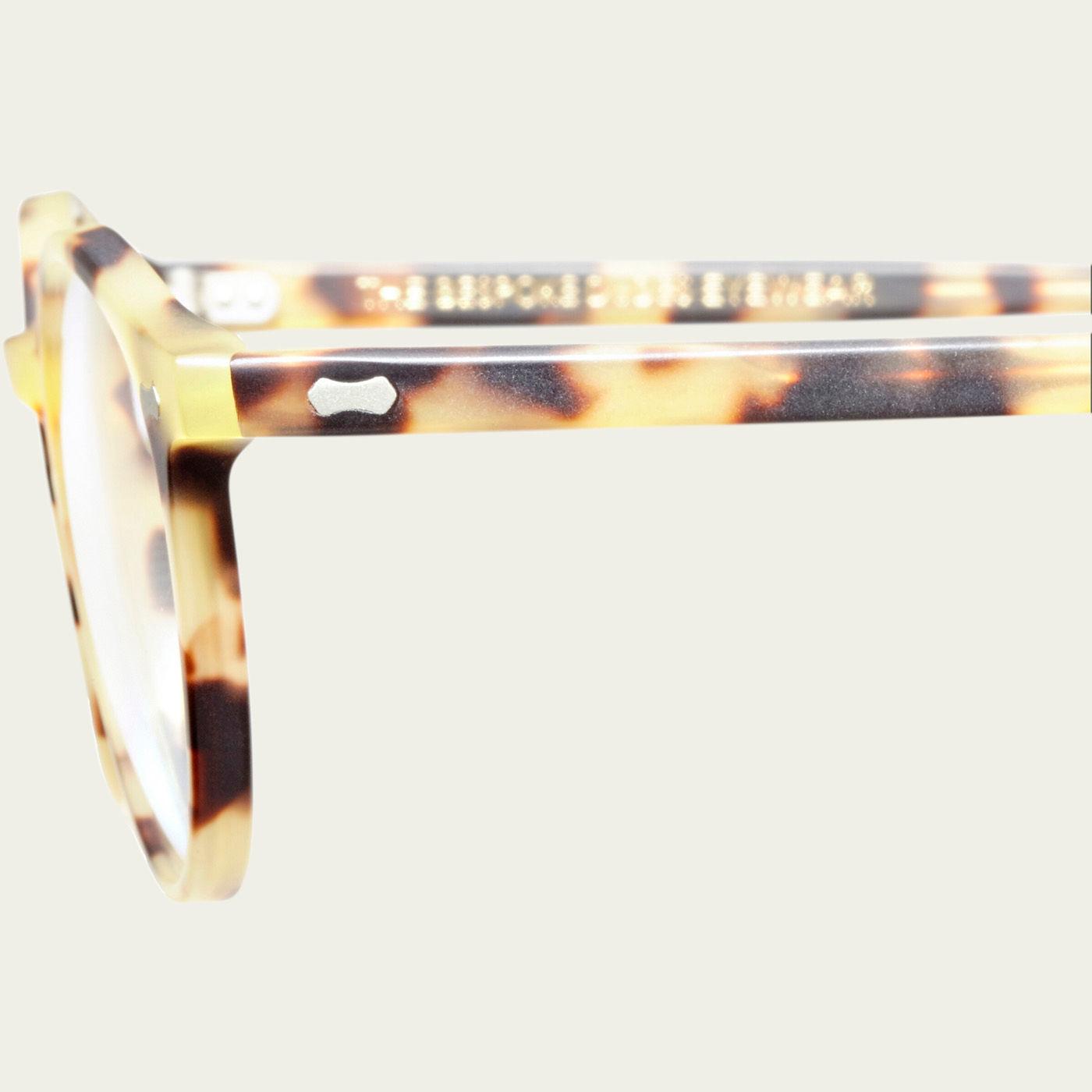 Matte Light Tortoise Optical Cran Glasses | Bombinate