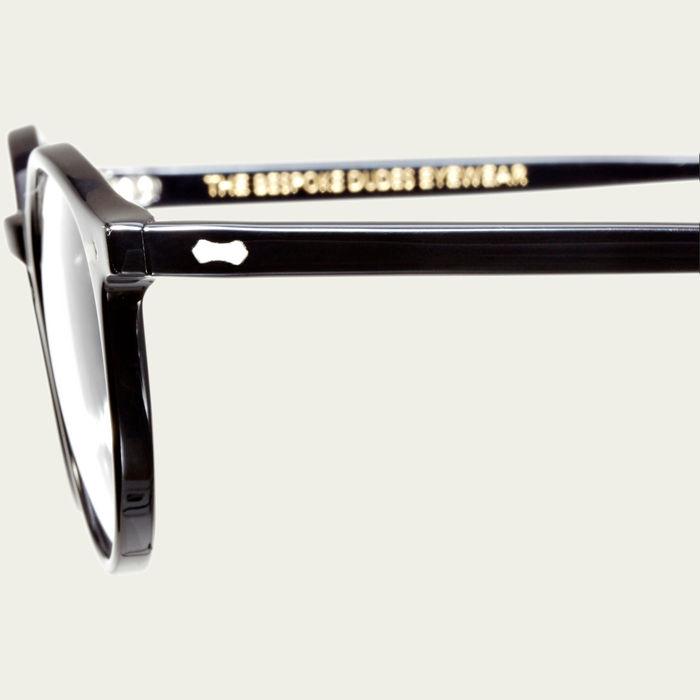 Black Cran Optical Glasses | Bombinate