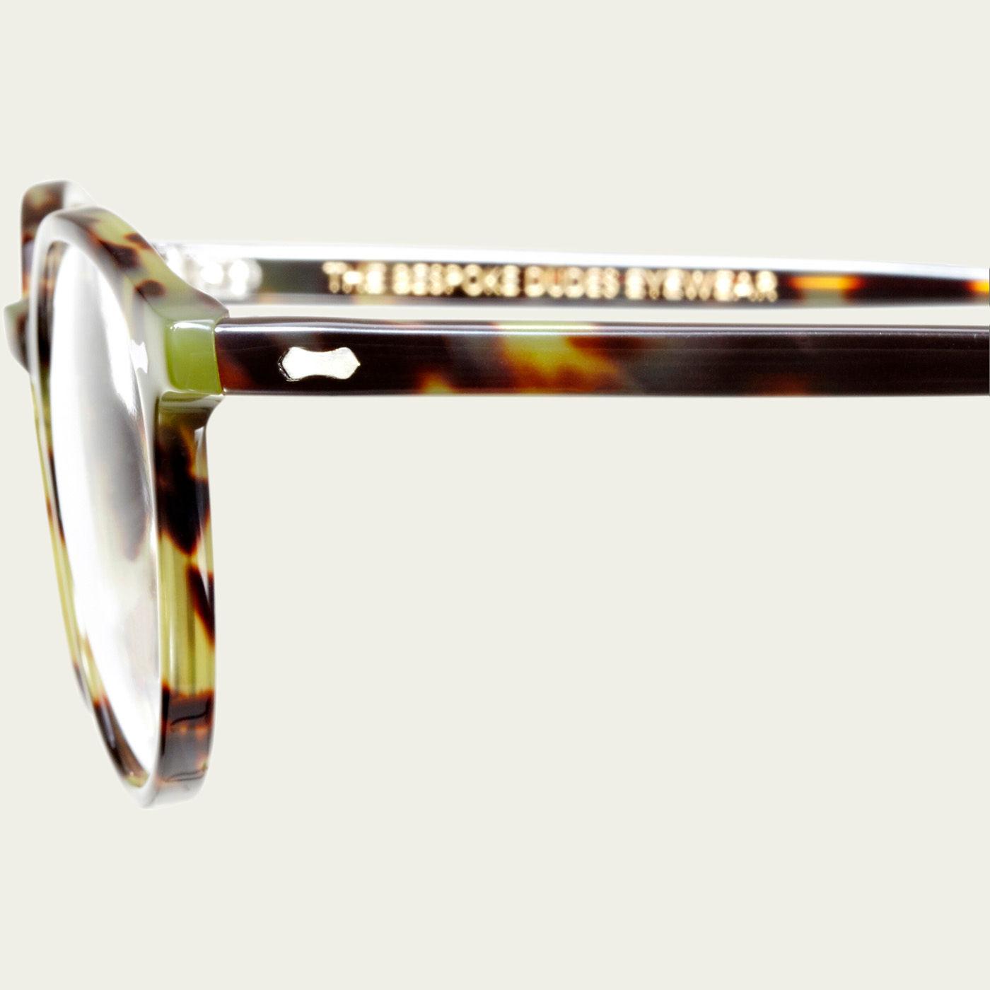 Green Tortoise Cran Optical Glasses | Bombinate