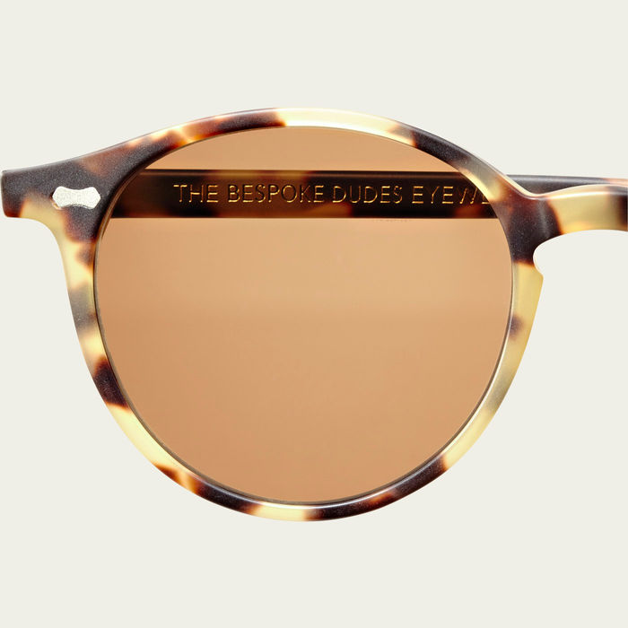 Matte Light Tortoise / Tobacco Cran Sunglasses | Bombinate