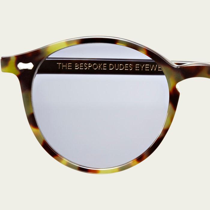 Green Tortoise / Gradient Grey Cran Sunglasses   Bombinate