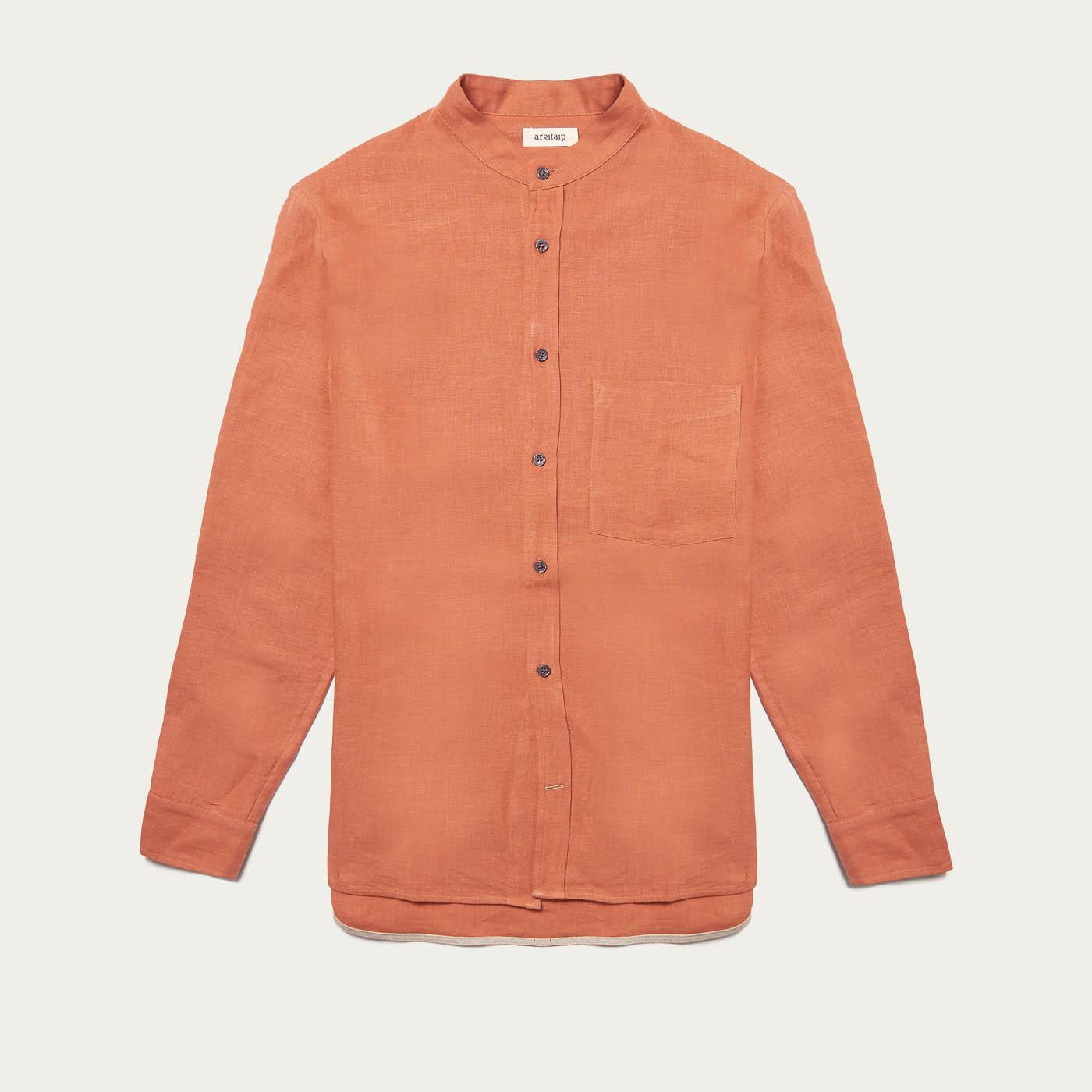 Ochre Heavy Mana Linen Shirt | Bombinate