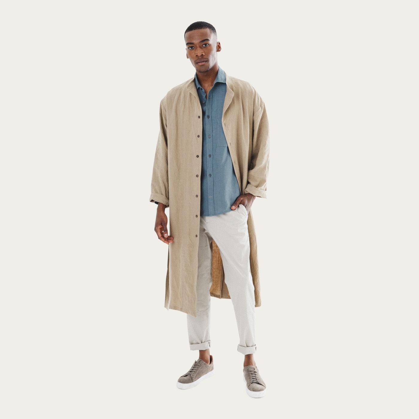 Caramel Heavy Brandolino Kimono | Bombinate