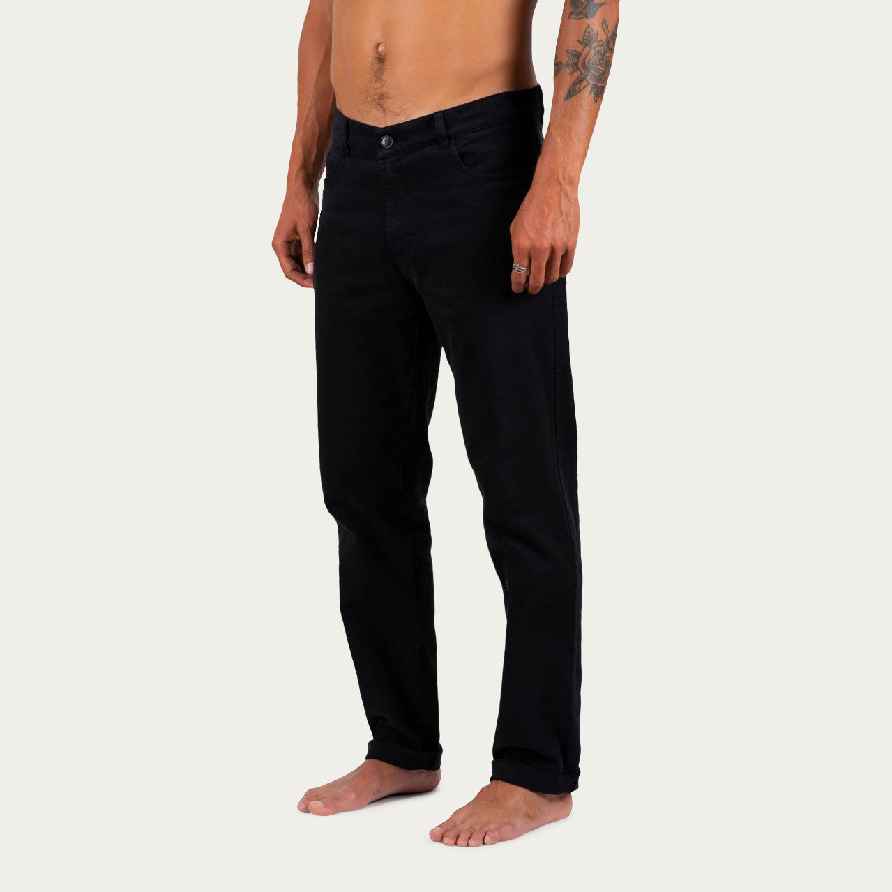 Black Denim +351 Pant | Bombinate