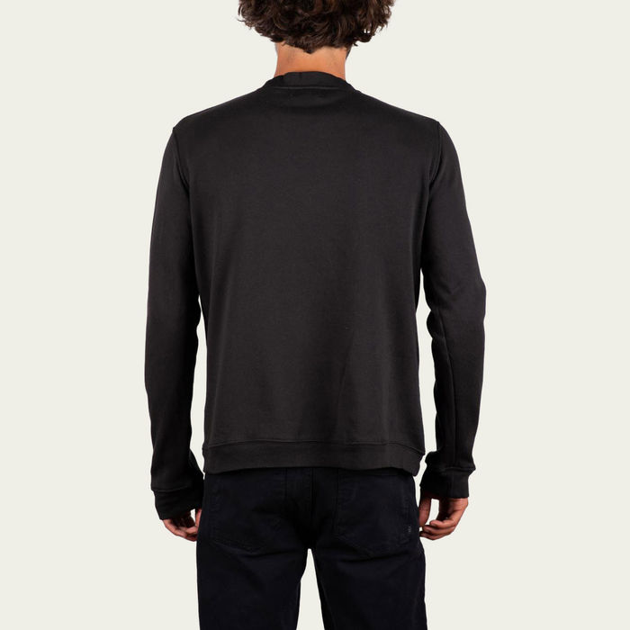 Charcoal and Sand Tag +351 Long Sleeve Tee-shirt | Bombinate