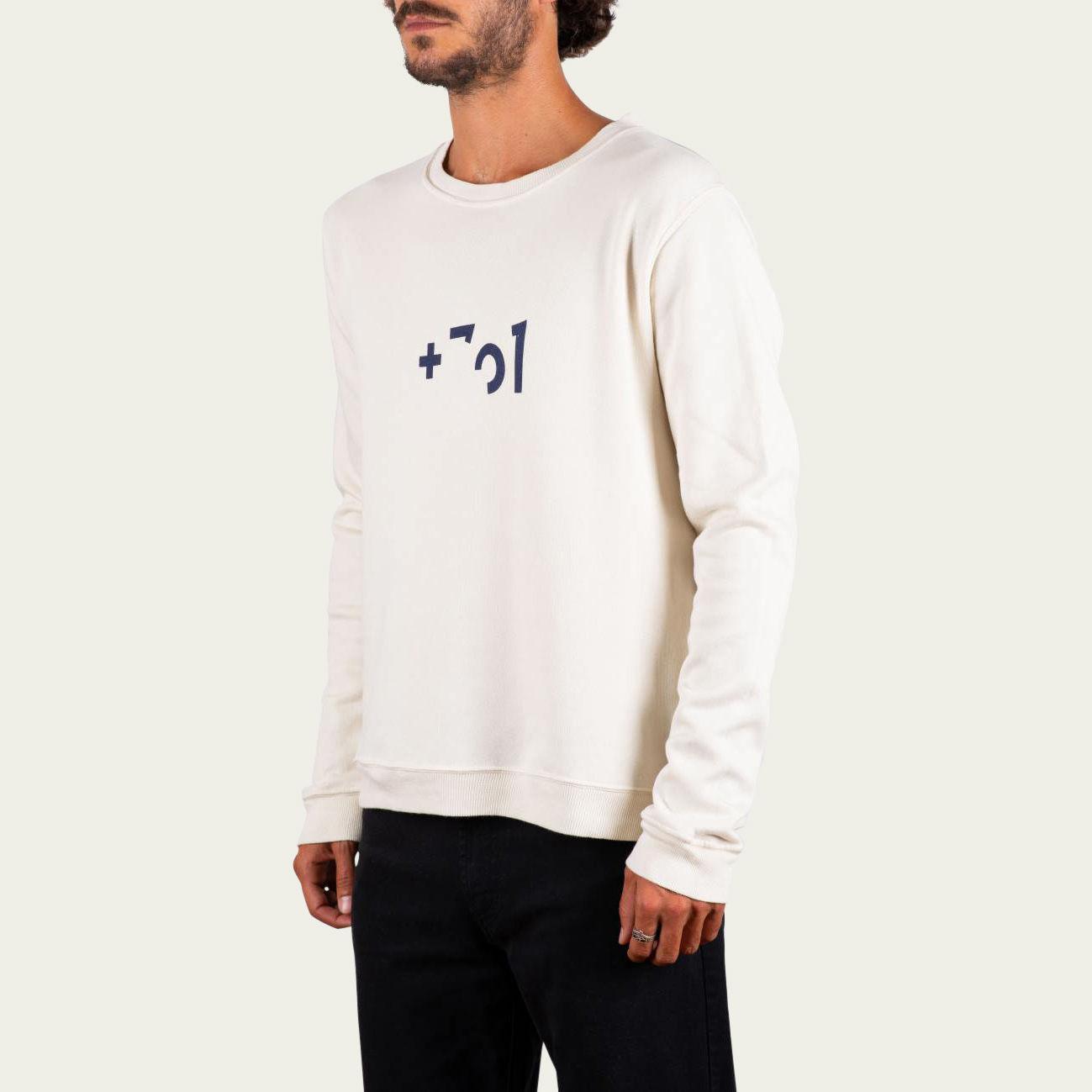 Blue and Sand Tag +351 Sweatshirt  | Bombinate