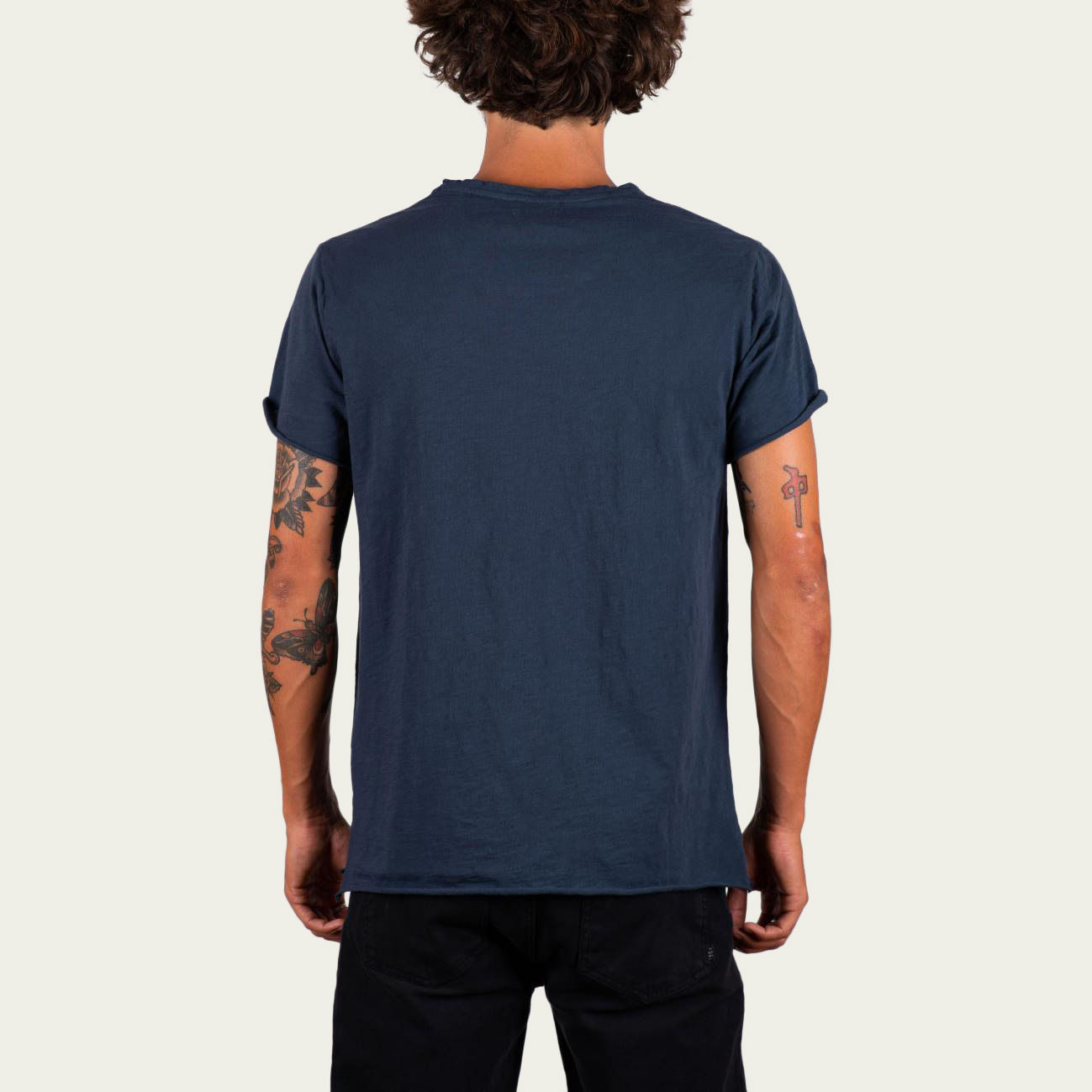 Blue Fade Out and Sand Plus 351 Tee-shirt | Bombinate