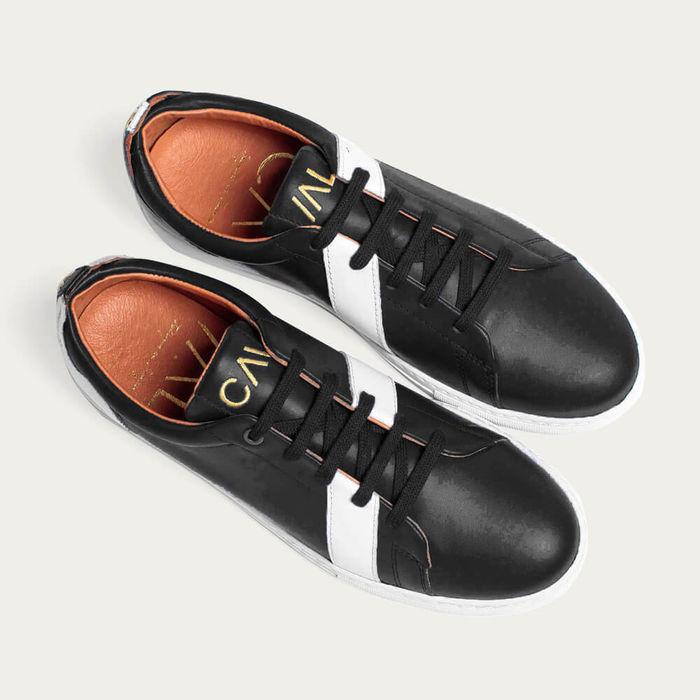 Black Divine Vincent & Mia Sneakers | Bombinate