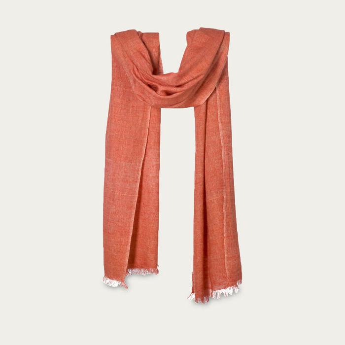 Carapace Sorrento Handspun Cashmere & Linen Scarf | Bombinate