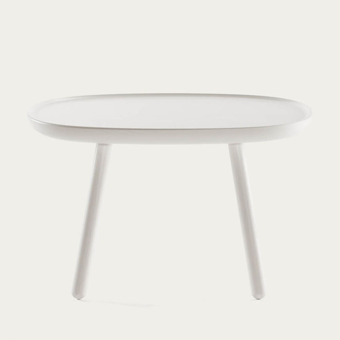 White Naive Side Tables | Bombinate