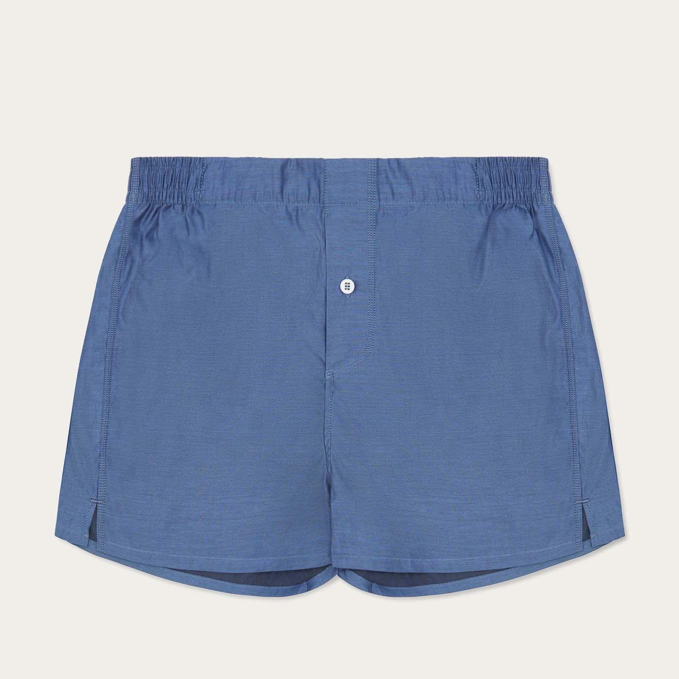 Navy Jersey Boxer Short 0