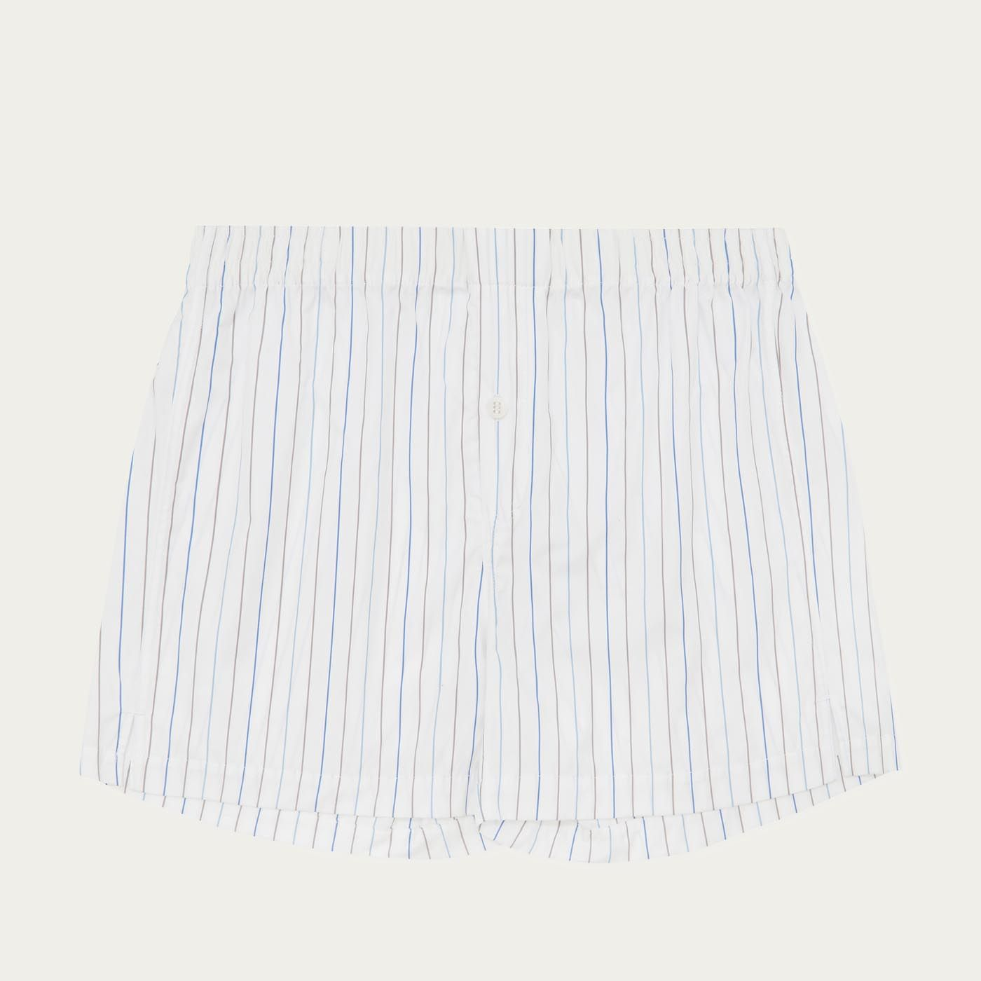 White Jersey Boxer Short  0