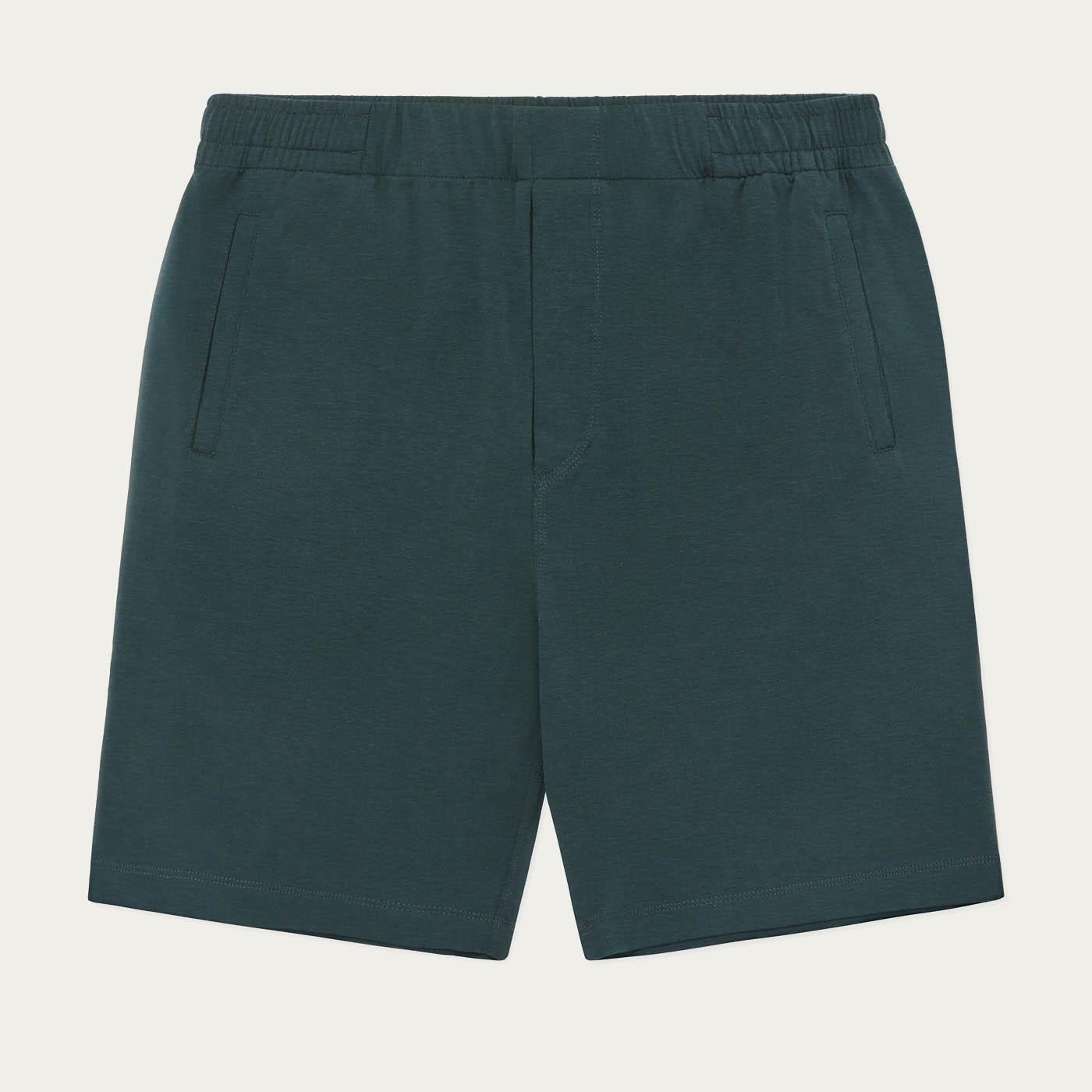 Green Jersey Sleep Short  | Bombinate