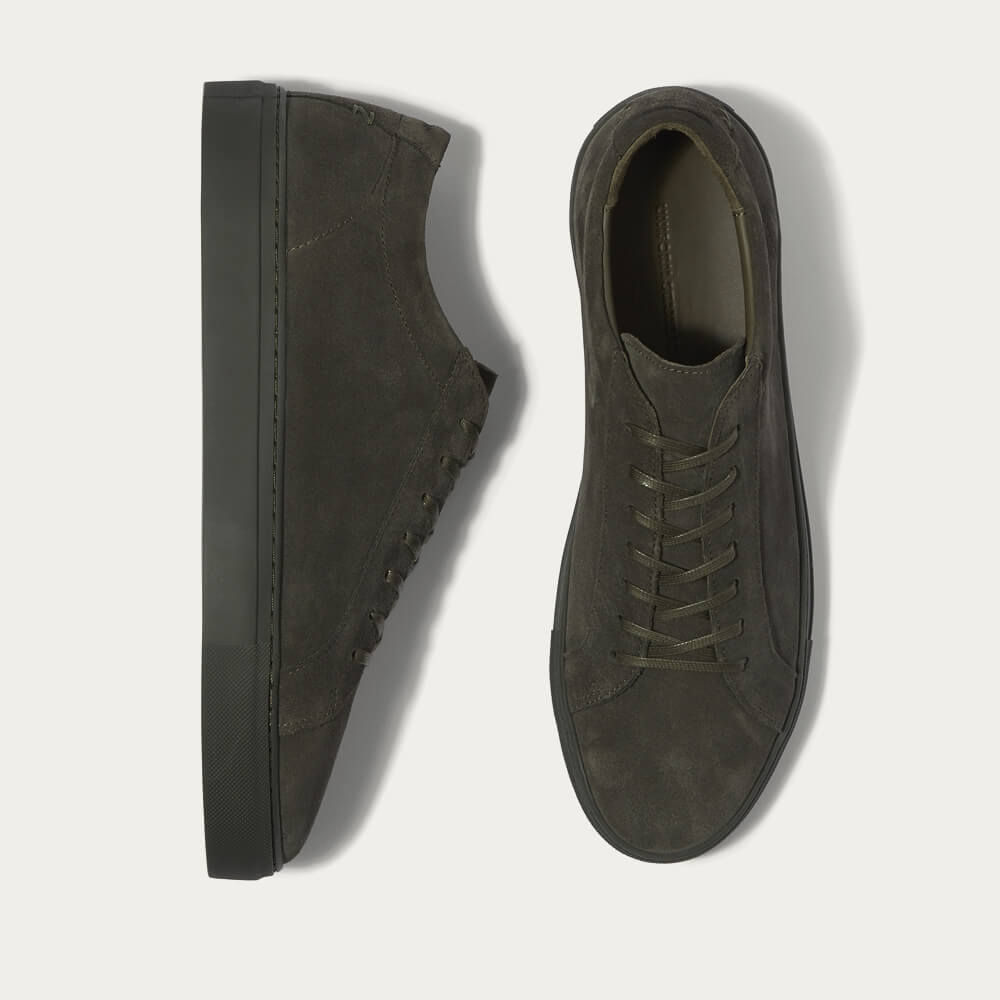 Triple Moss Suede Series 1 Sneakers - Bombinate Exclusive | Bombinate