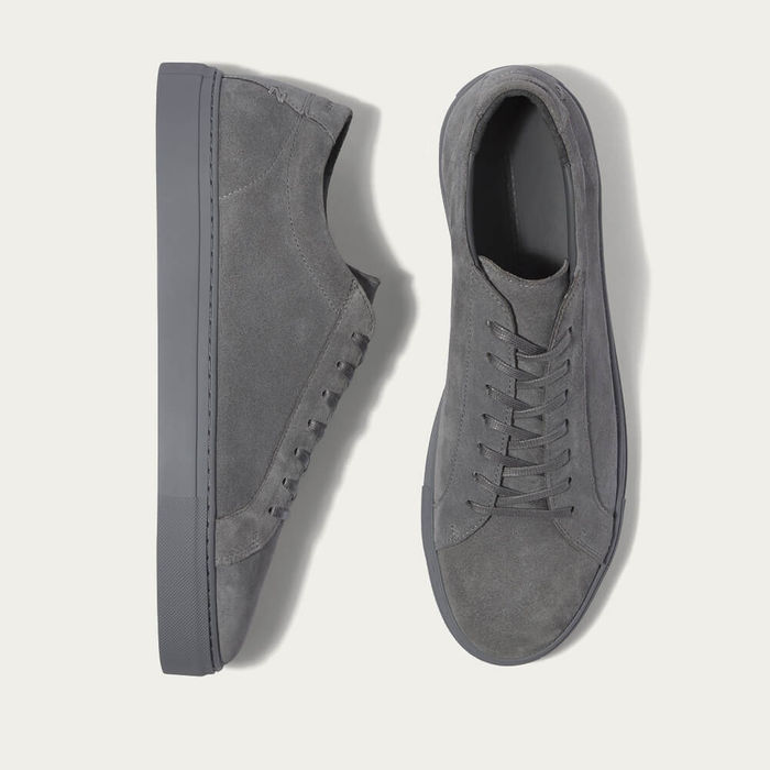 Triple Grey Suede Series 1 Sneakers | Bombinate