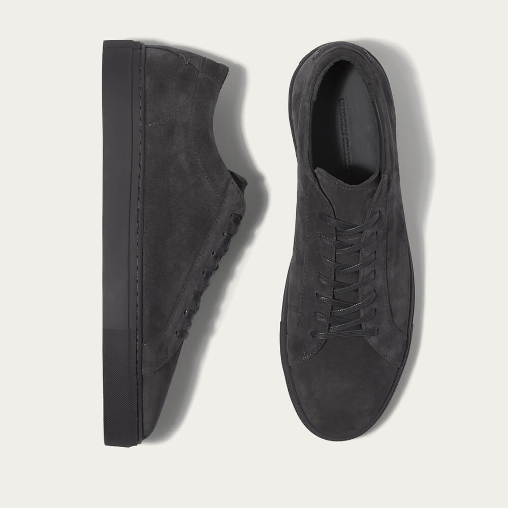 Triple Carbon Suede Series 1 Sneakers | Bombinate