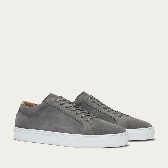 Grey Suede Series 1 Sneakers | Bombinate