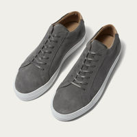 Grey Suede Series 1 Sneakers | Bombinate