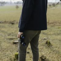 Blue Findor Wool Jacket | Bombinate