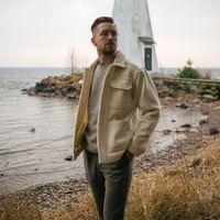 White Findor Wool Jacket | Bombinate