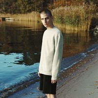 Grey Mélange Jämtland Wool Sweatshirt | Bombinate