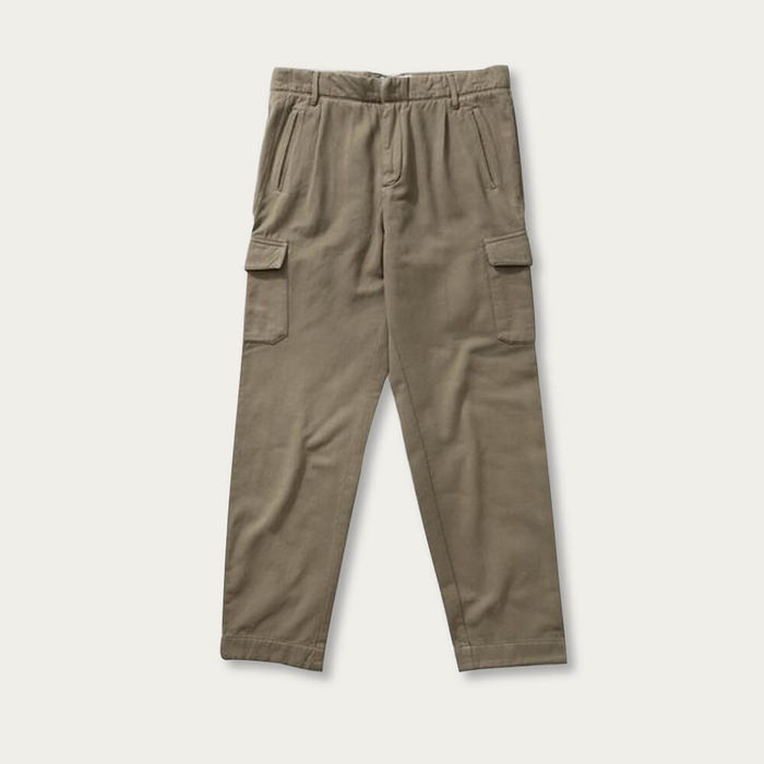 Olive Relaxed Owen Cargo Pants | Bombinate