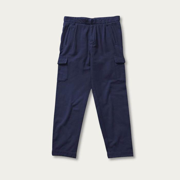 Navy Relaxed Owen Cargo Pants | Bombinate