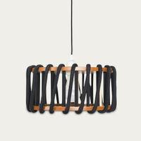 Black Macaron Pendant Lamp   Bombinate