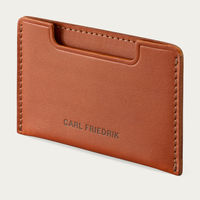 Cognac Chester Slim Credit Card Holder | Bombinate