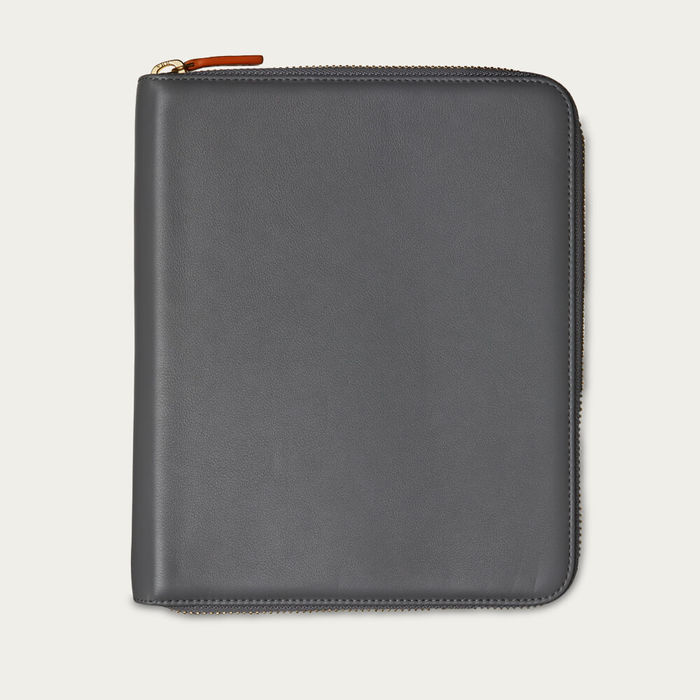 Quiet Shade & Blue Jeans The First Class Leather Tech Case | Bombinate