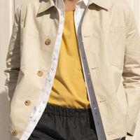 Sand Organic Cotton Workwear Jacket | Bombinate