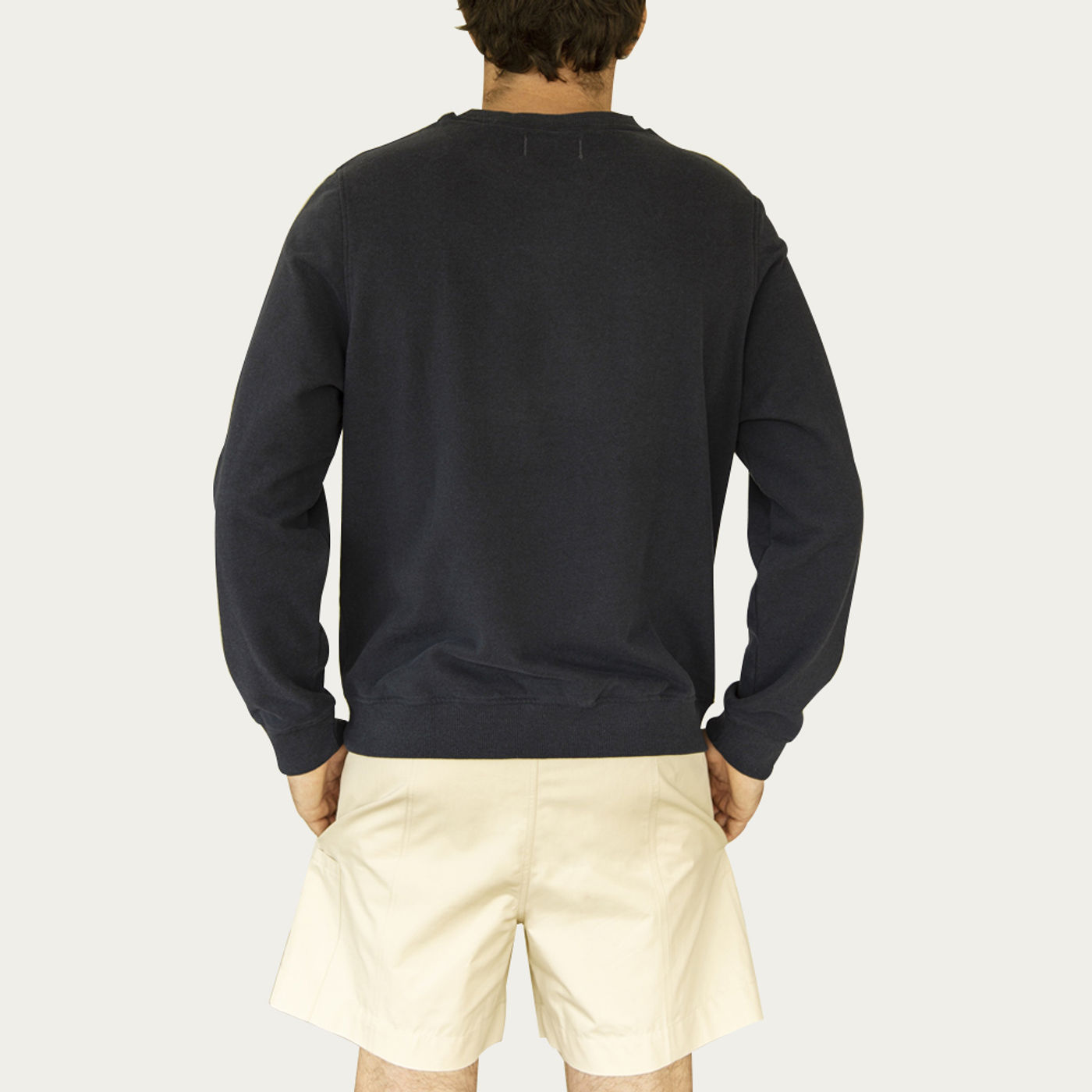 Midnight Created From Waste Classic Sweatshirt   Bombinate